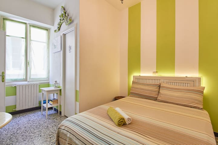 Green room in Finalborgo