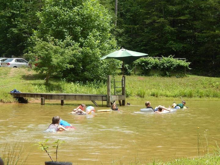 Georgia Mtn-Camping -Primitive w/ use of full bath