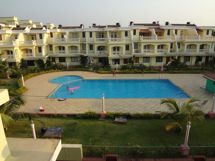 Beautiful 3bhk row house in Benaulim, South Goa