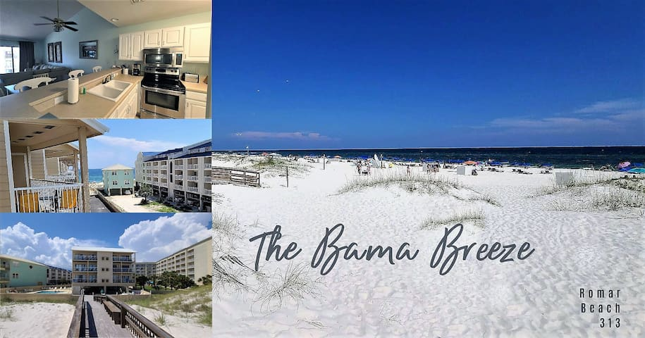 Your Beachside retreat!! 2bed 2bath** Come put your toes in the sand!***$135 a night special***