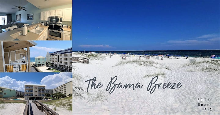 Your Beachside retreat!! 2bed 2bath** Come put your toes in the sand!***$109 a night special***