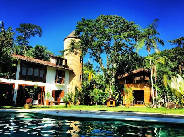 Estalagem Camburi | Family Suite w a/c and balcony