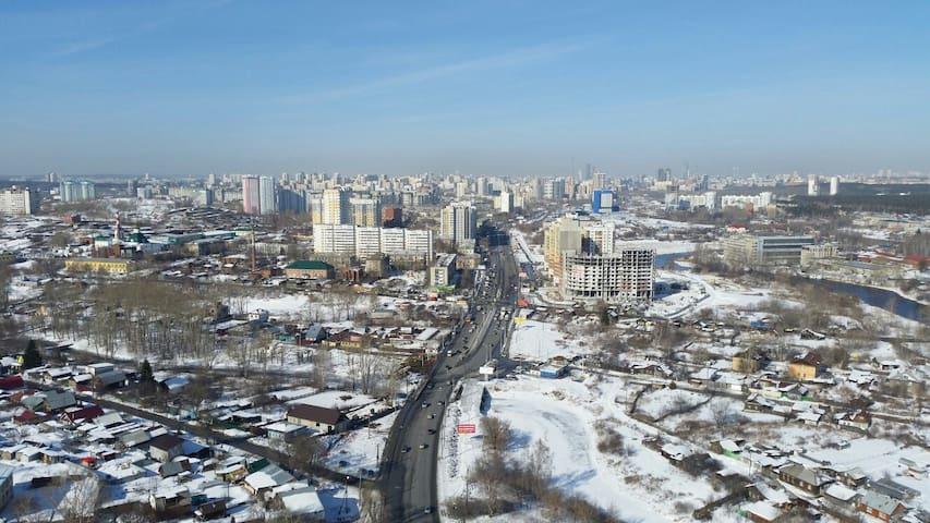 ЖК КАМЕННЫЙ РУЧЕЙ - Yekaterinburg - Apartment