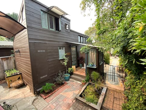 Cottage Retreat w/Private Garden Steps from Shops!