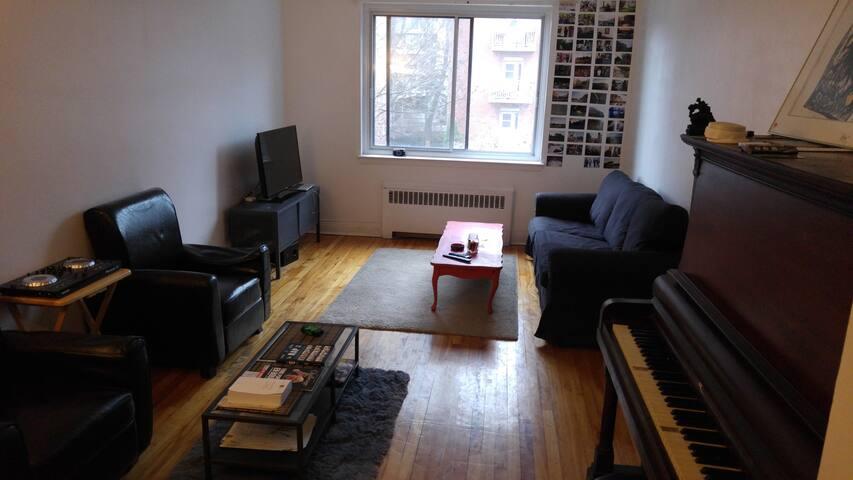 Appartement Montréal 15 min centre  - Montréal - Flat