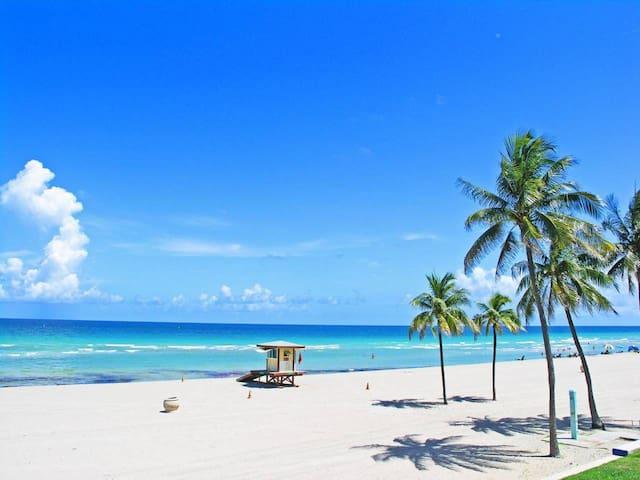 Miami Beach OASIS. Studio Hallandale beach, FL.