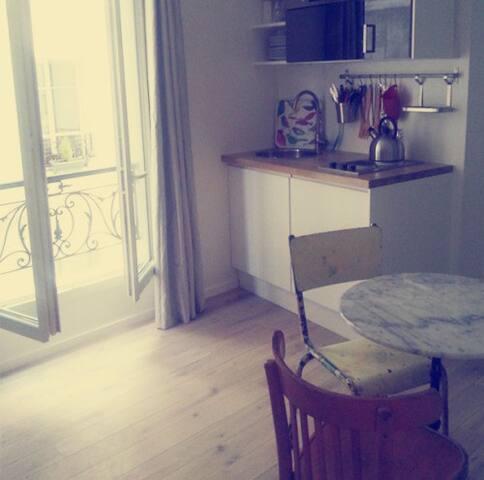 Charmant studio entièrement équipé à Montmartre !