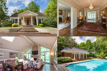 9,000 sq ft Estate with Pool, 5 miles to downtown - House