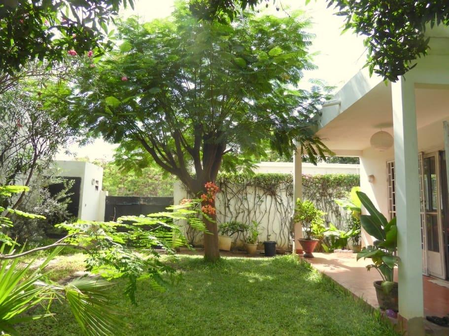 Villa Meubl E Avec Jardin Louer Villas Louer Dakar: salon jardin villa esmeralda tultitlan