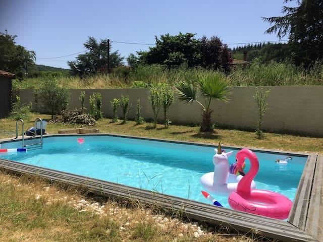 Albi, maison de caractère avec piscine privative