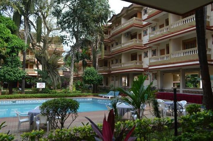 Private 2BHK in Highland Beach Resort, Candolim - Candolim - Huis