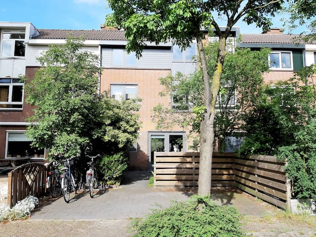 Family house near city centre Amsterdam