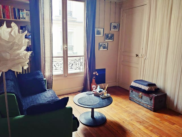 Charming flat (private bedroom) in Trocadero (II)