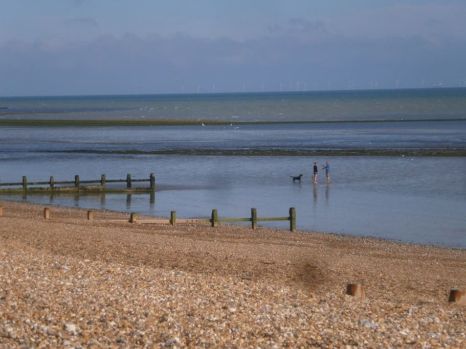 Low tide at East Preston