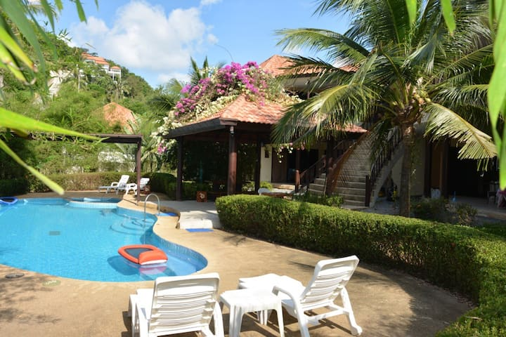 Tropical Apartment with Pool #4 - Ko Samui - Daire