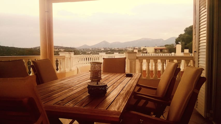 Exotic House + Jacuzzi + Panoramic View - Anatoliki Attiki - House