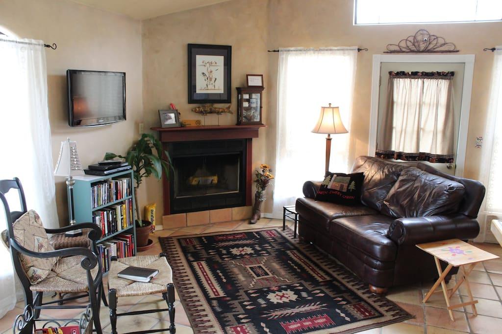 Beautiful & Comfortable Living Area