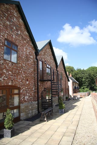 The Hayloft, romantic first floor apartment - Blandford Forum - Byt