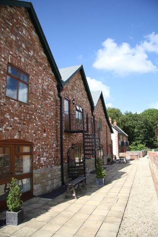 The Hayloft, romantic first floor apartment - Blandford Forum - Appartement