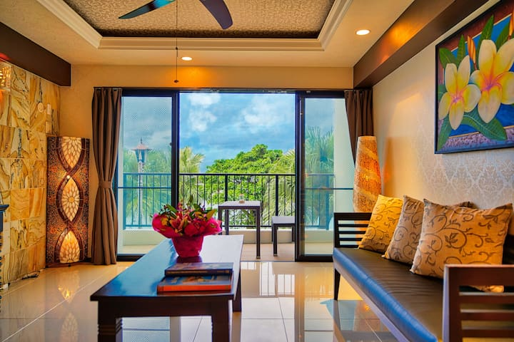 SUITE BALI TERRACE NEXT TO ARAHA BEACH @ CHATAN