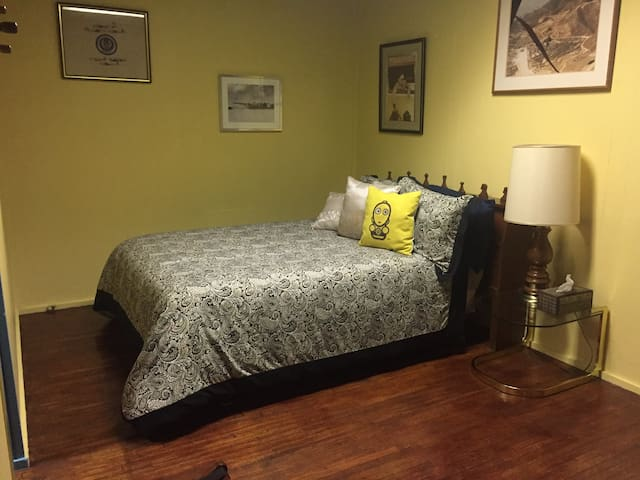 Spacious private room near WAFB & UCM