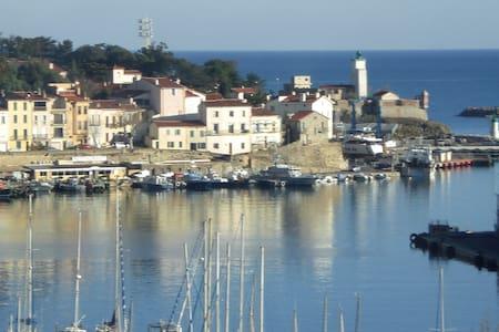 Vue panoramique sur la mer ,2 kms de Collioure - Port-Vendres