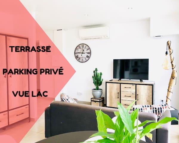 #5 ❤︎Bel Appartement Lumineux + Terrasse + Vue❤︎