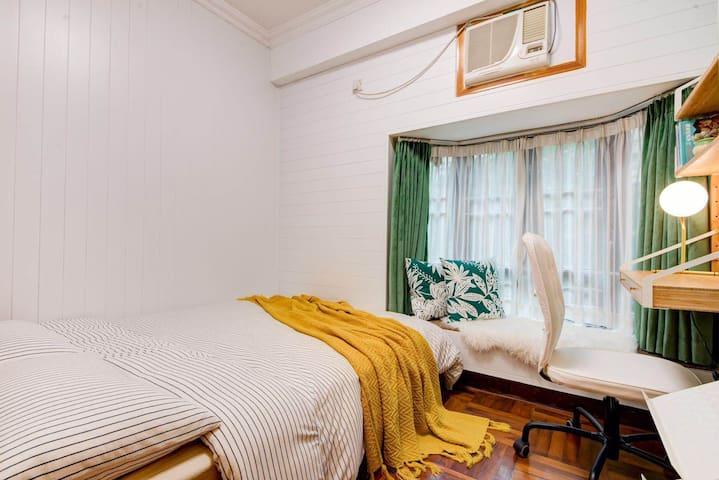 【宫心·Andy】会展中心,独立设计师,ins风次卧超舒服的宜家床垫
