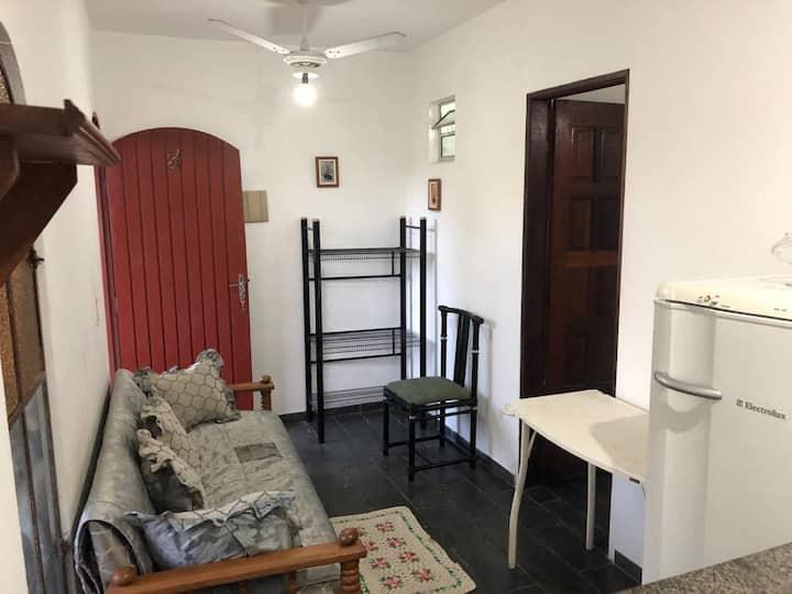 #Apartamento Enseada c Garagem e Ar Condicionado