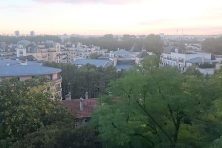 3 chambres, proche Paris, idéal pour famille - Appartamento