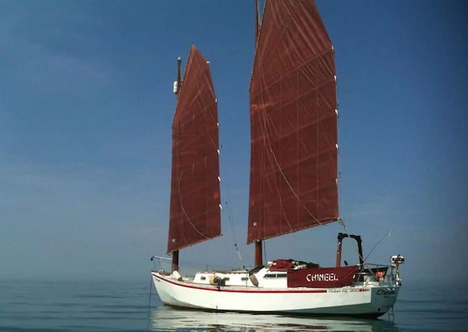 Bed & Breakfast - 36' Chinese Junk-Rigged Schooner