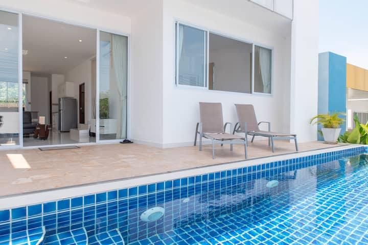 ModernHouse 2BR - Private Pool