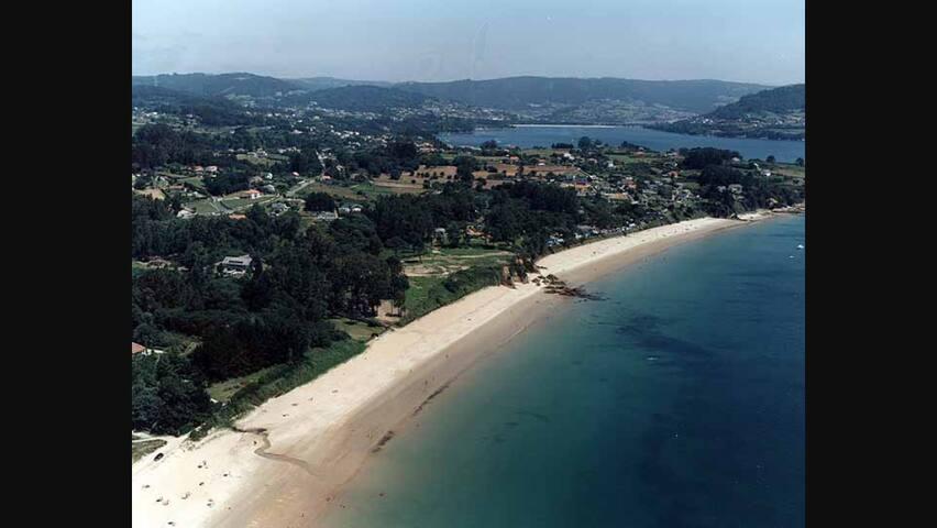 Apartamento a estrenar en la Playa de Ares, coruña - Ares - Osakehuoneisto