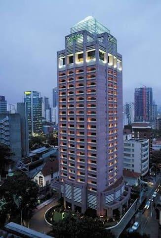 Hotel sofisticado Itaim - Faria Lima