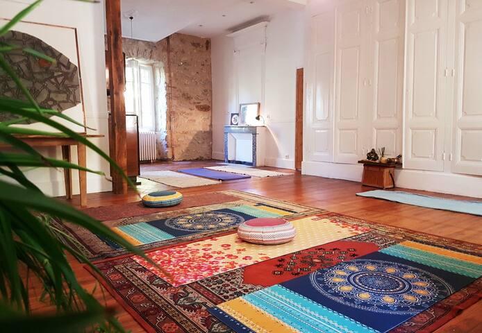 Séjour Zen: Chambre Privée  dans un Centre de Yoga