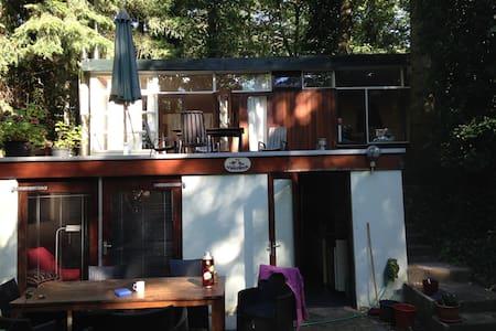 Natuur en Stilte in Romantisch  Boshuis Vinkenoog - Arnhem - Chalet