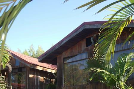 Cómodas cabañas en un entorno natural - 통나무집