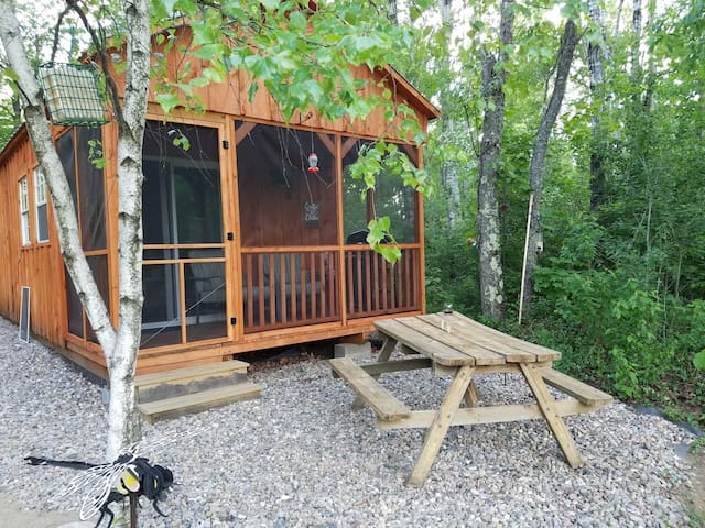 Front of Dragonfly Cabin