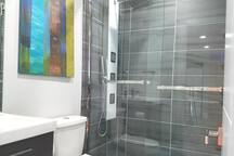 This shower is amazing! I love the Rainfall setting!