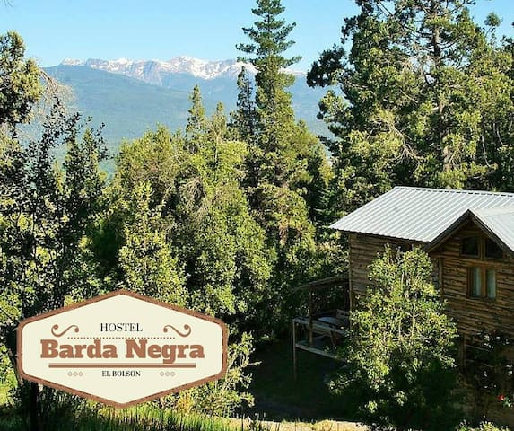 Hostel de Montaña y Bosque BARDA NEGRA - El Bolsón - Herberge