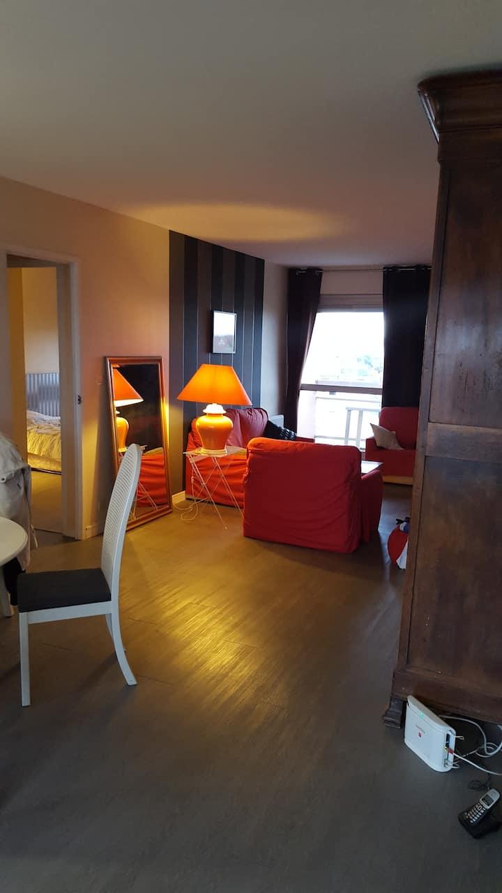 Bel appartement Bordeaux avec terrasse