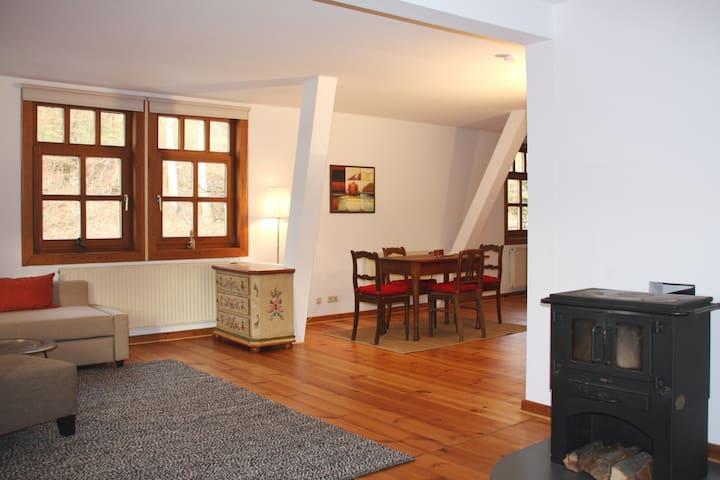 Ferienwohnung Berta im Grünen Tal - Gersfeld (Rhön) - Квартира