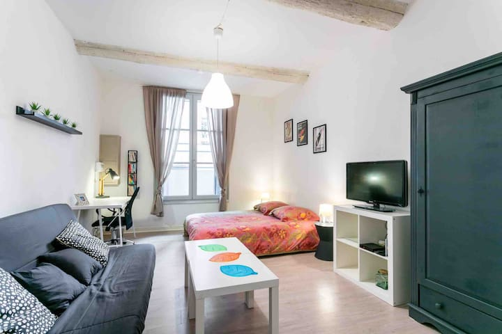 Studio écusson - 28m2 - Montpellier centre