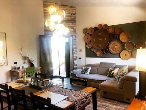Bau House Sardegna Casa con 3 camere e 3 bagni
