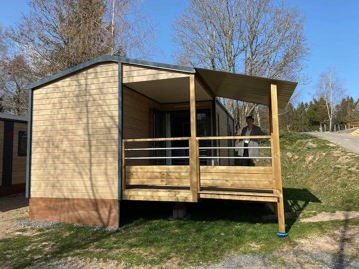 MOBILHOME LODGE 2 CHAMBRES VOSGES