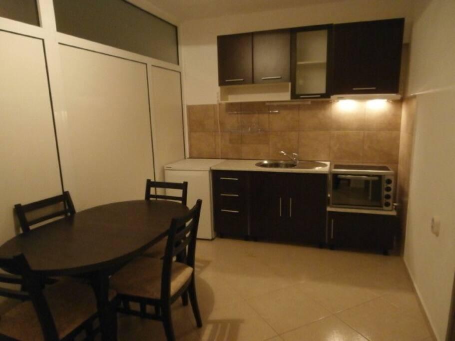 двух спалльны апартамент с кухней