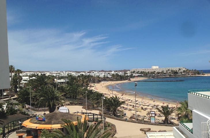 Beach 1st line/sea view, new design - Costa Teguise - Byt