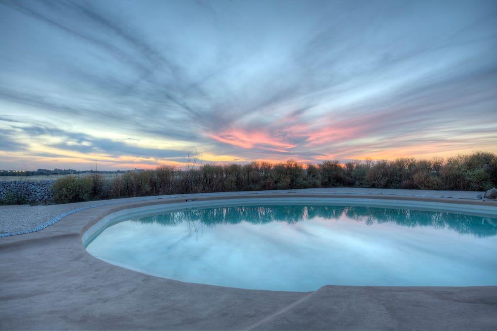Masseria nel salento con piscina ad uso esclusivo case - Masseria in puglia con piscina ...