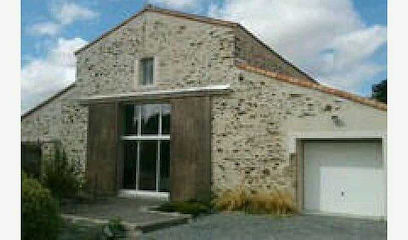 Nid douillet à l'oiselière - Saint-Fulgent - House