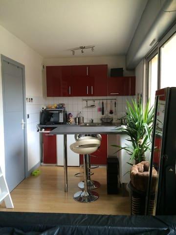 Studio agréable et lumineux proche de la Gare - Bordeaux - Appartement en résidence